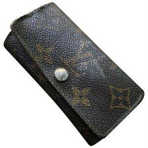 Louis Vuitton Monogram Key Holder/Wallet #370***